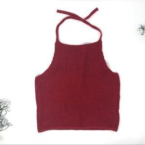 Brandy Melville Knit Halter Top